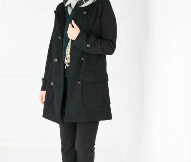 Milan Coat Black