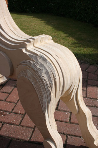 Making a laminated Rocking Horse
