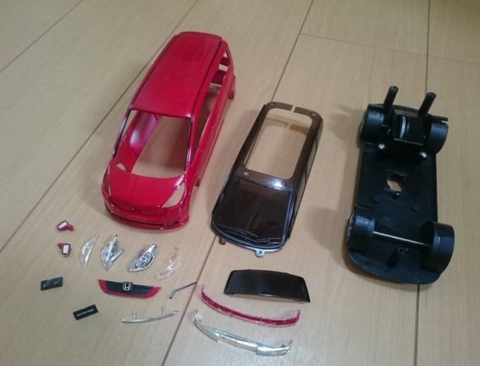 ステップワゴンRG カラーサンプル