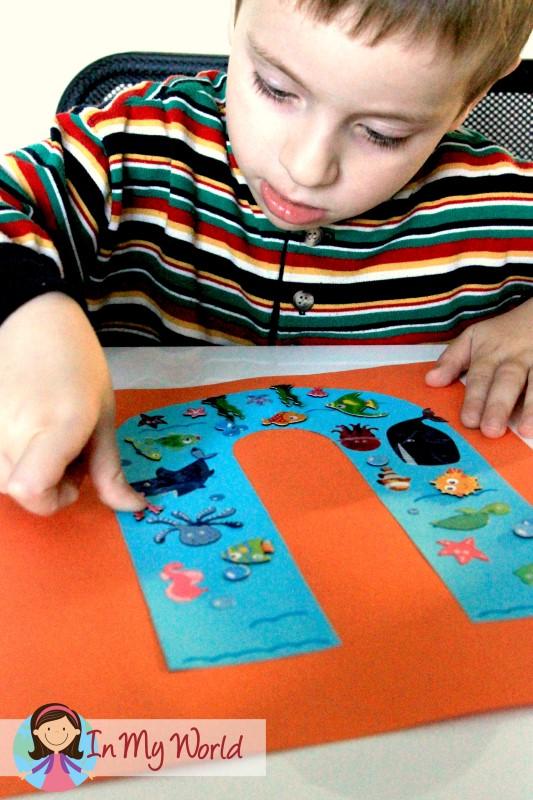 Preschool Letter U In My World