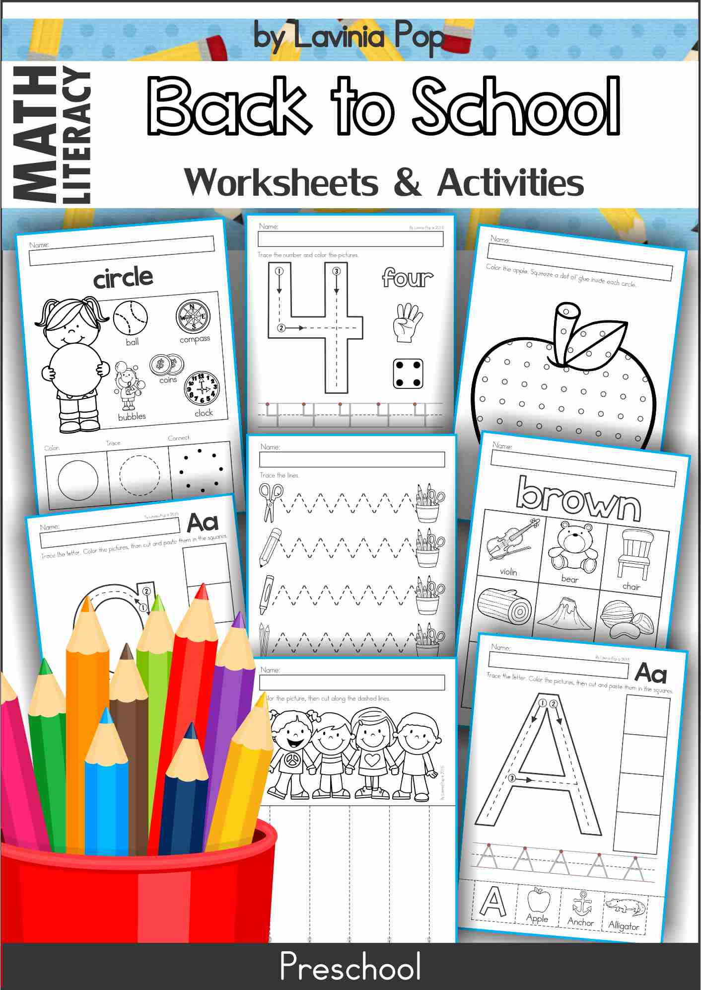 Preschool Worksheets And Activities