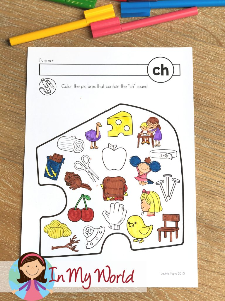 medium resolution of FREE CH Digraph Printable Activities \u0026 Worksheets - In My World