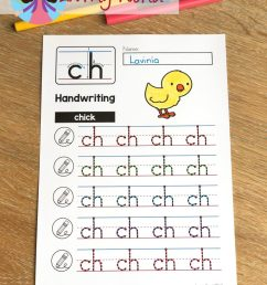 FREE CH Digraph Printable Activities \u0026 Worksheets - In My World [ 1024 x 768 Pixel ]