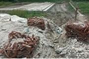 চাঁদপুরে মধ্য আশিকাটি স্কুল নির্মাণের শুরুতেই অনিয়ম, পাইলিং ভেঙে চৌচির, ভবনের কাজ স্থগিত