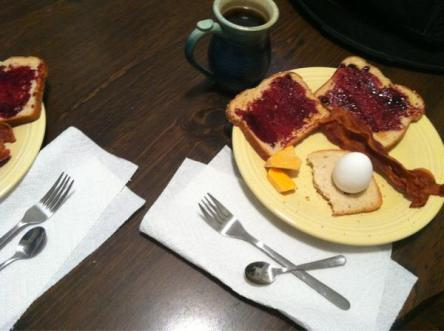 Amy's Breakfast at Winterfell