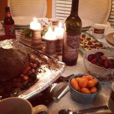 Carrie's potluck feast