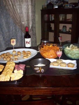Emily's birthday feast