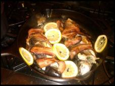 Layne's bacon trout