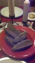 Michael Jordal's black bread and lemoncake