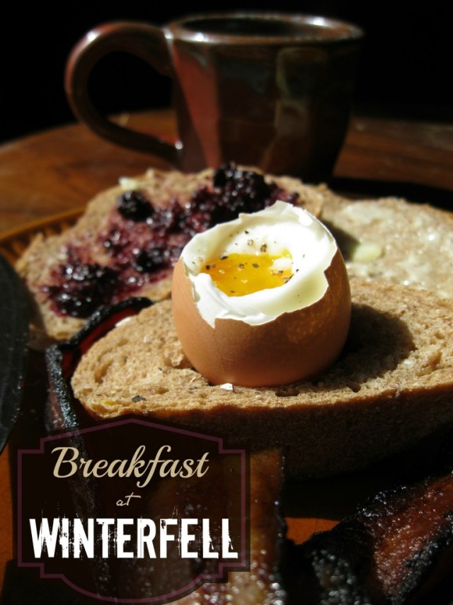 Breakfast at Winterfell, recipes from Game of Thrones
