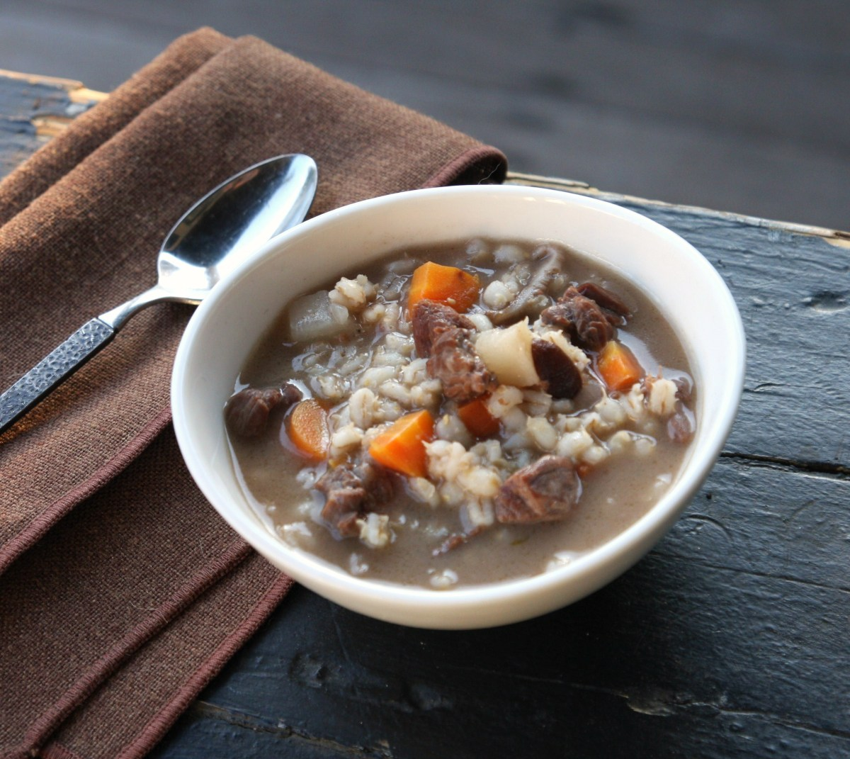 Beef and Barley Stew recipe from Game of Thrones