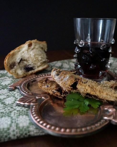 Breakfast in Braavos, fried sardines, from Game of Thrones