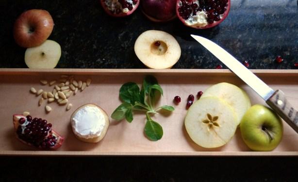 apple salad elements