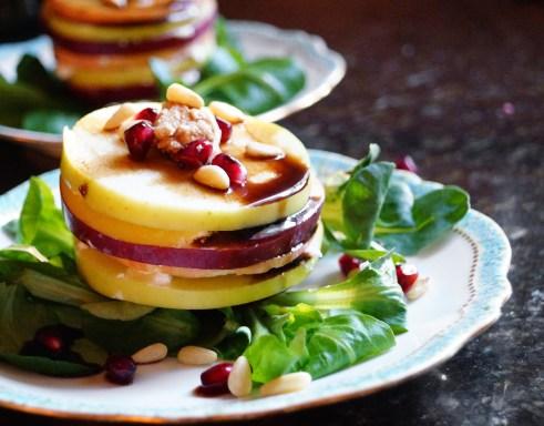 Healthy Apple Salad closeup | Inn at the Crossroads