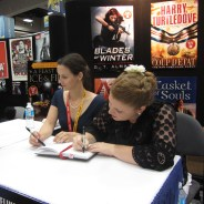 signing at SDCC
