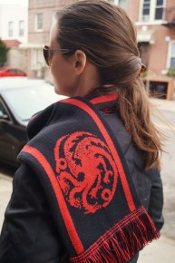 My awesome Targaryen scarf from HBO