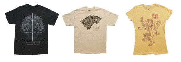 GoT shirts