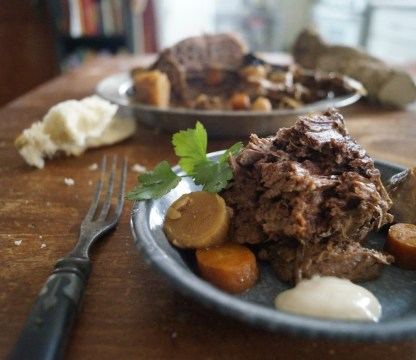 Boiled Beef and Horseradish
