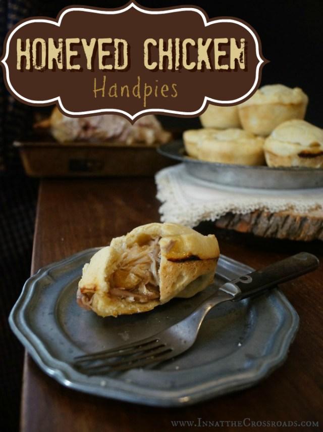 Honeyed Chicken Handpies, from Game of Thrones