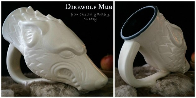 wolf mug collage