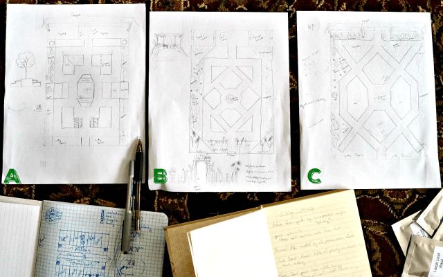 cloister garden plans
