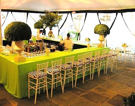 chair cover alternatives wedding indoor swingasan to having an open bar at your inn the old yacht clug greewich reception lime green black white urns tent bawel event