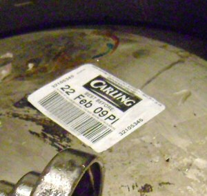 carling label