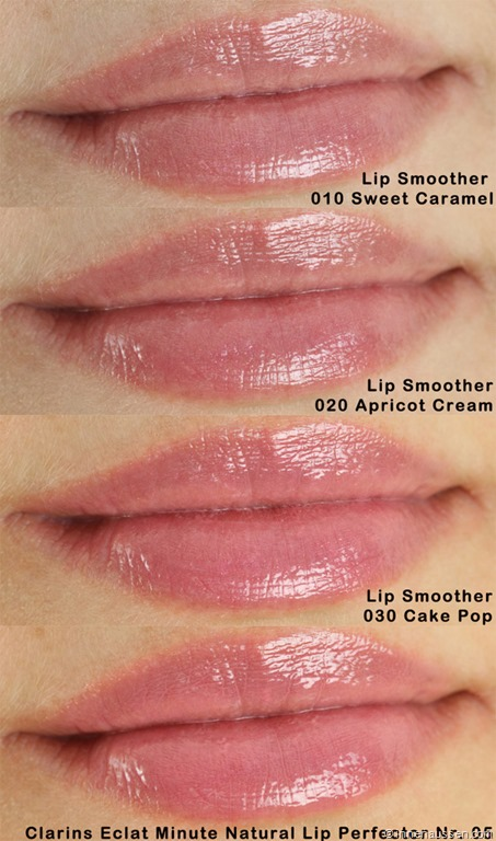 Catrice Beautifying Lip Smoothers versus Clarins Instant