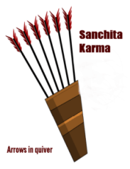 Sanchita karma arrow in quiver