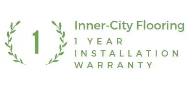 Installation warranty logo