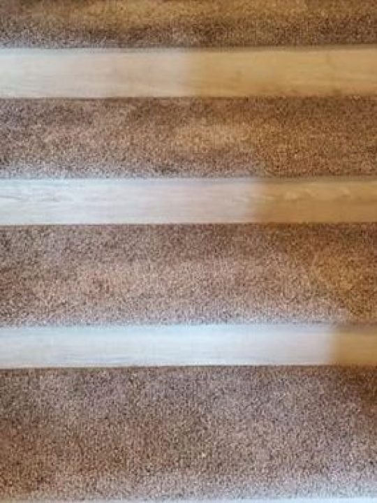 Carpet and Vinyl Stairs