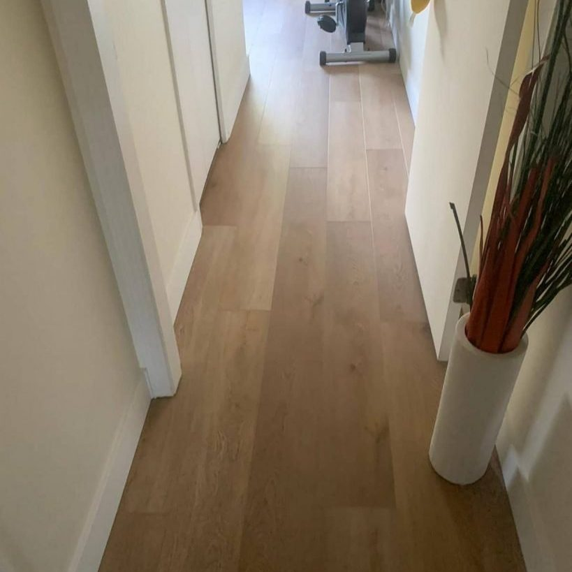 Vinyl Plank with Installation