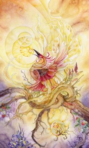 Death from The Shadowscapes Tarot