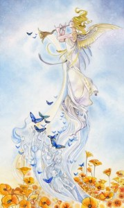 Judgement from The Shadowscapes Tarot by Stephanie Pui-Mun Law