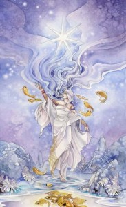 The Star from the Shadowscapes Tarot