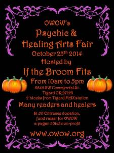 OWOW October Psychic Faire