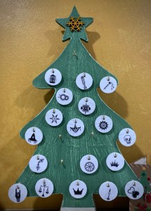 December 18, 2020 Advent Calendar Draw: The Emperor. Click to embiggen