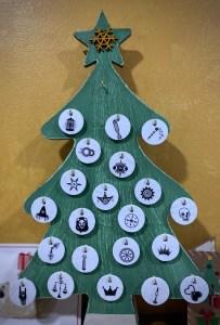 December 21, 2020 Advent Calendar Draw: Strength. Click to embiggen
