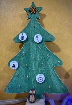 December 4, 2020 Advent Calendar Draw: The Hermit. Click to embiggen