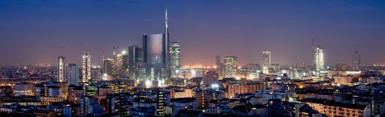 milano night view