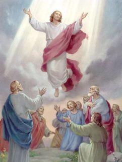 Gesù che scende dal cielo
