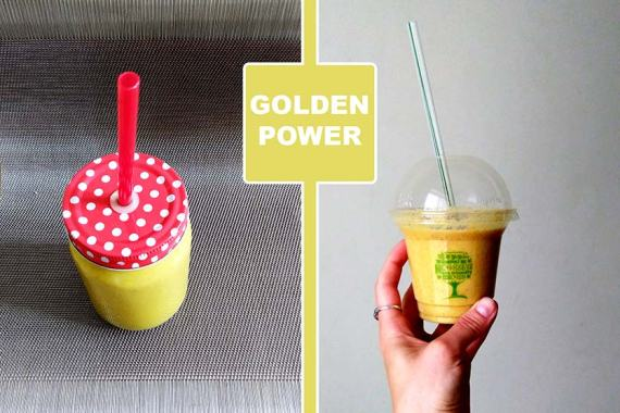Recipe: Golden Power Smoothie