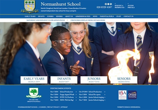 normanhurst-school-website-design