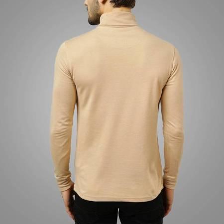 Men Wholesale High Neck Long Sleeve Skin Back