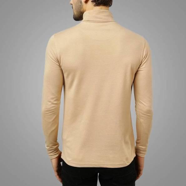 Men-Wholesale-High-Neck-Long-Sleeve-Skin-Back