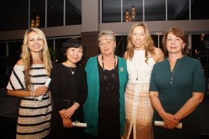 Grant recipients with National Project Coordinator Susan Parry