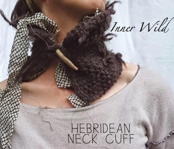 hebridean neck cuff pattern copy