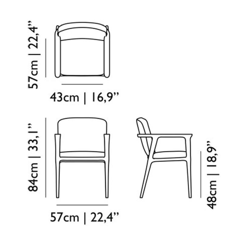Moooi Zio Dining Chair