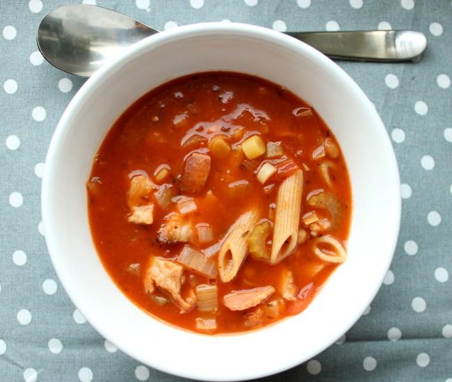 minestrone suppe minestronesuppe