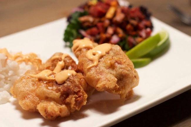 Fritert kylling